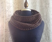 Pinecone Cowl - Luxury Knit Cowl