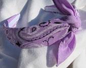 Bandana Knot Headband (LAVENDER)