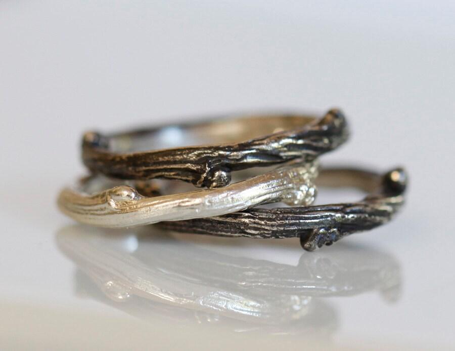 Willow Twig Ring Sterling Silver Stacking Rings Twig. Organic Wedding Rings. Crushed Stone Engagement Rings. Wedding Dutch Engagement Rings. Traditional English Engagement Rings. State Rings. Iridescent Wedding Rings. Real Gem Rings. Motherhood Rings
