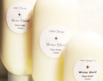 Shea Butter Lotion - Floral Fragrances  - 4 - 8 - or 12oz Sizes