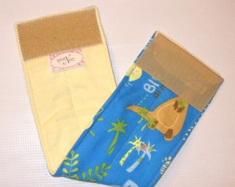 Custom Sized Male Dog Belly Band Wrap Diapers Bands BABY JUNGLE ANIMALS
