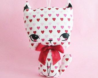 Little Kittie Plush Ornament - Amorette