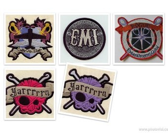 Crafty Patches for Kick Ass Crafters FIVE CHOICES!!