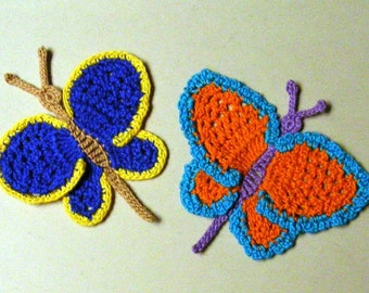 Bright and Bold Butterflies pdf pattern