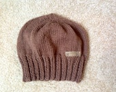Brown child beanie