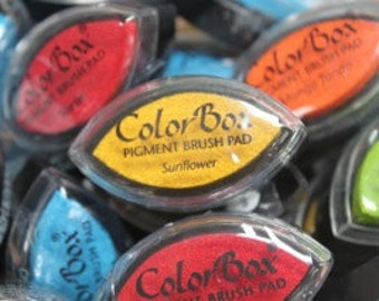 ColorBox Cat's Eye PIGMENT Ink Pad - SUNFLOWER