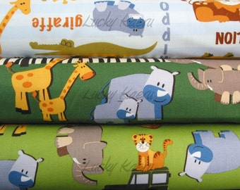 Camelot, Safari Adventure Half Yard Fabric Set