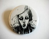 Trapped in a Drawing Button - 1 1/4""