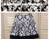 Girls Twirl Skirt- Holiday Ready to Ship