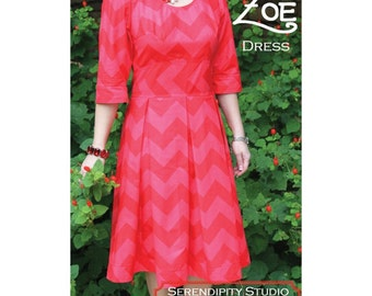 Serendipity Studio PATTERN - The Zoe Dress