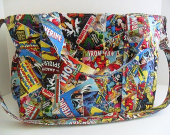 Marvel Diaper Bag - Super Hero - Diaper Bag - Messenger Bag - Extra Large Diaper Bag