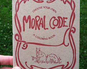 Moral Code Zine - Squirrels vs. Rabbits