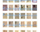 Dollhouse Miniature Antiphonary Pages - Printable Digital