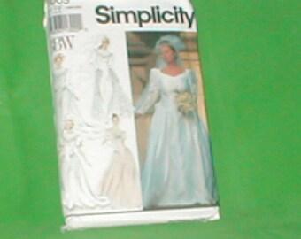 Vintage Simplicity 8009 Wedding Dress Sizes 18 - 24