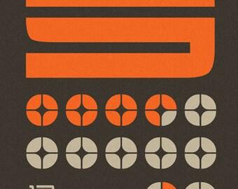 Nineteen Seventyfive - Techno Graffiti Abstract Print