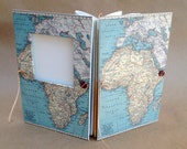 Africa Travel Journal - Notebook with Pockets and Envelopes - Personalized for You