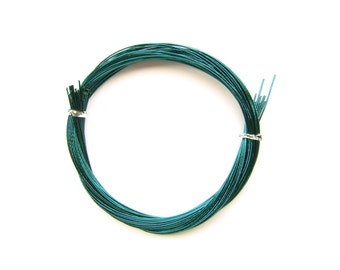 Mizuhiki Japanese Decorative Paper Strings Cords METALLIC Teal Blue Green