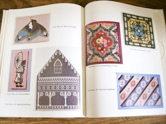 "Needlearts Design Book ""Victorian Designs for Needlepoint"" Phyllis Kluger"