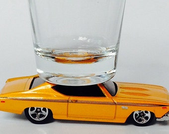 The ORIGINAL Hot Shot, Shot Glass, '69 Chevy Chevelle SS 396, Hot Wheels