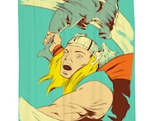 Hammertime, Thor, Shower Curtain, Printed in USA