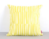 SALE - Yellow Cushion Cover  - TATAMI