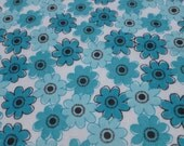 Blue Flowers Baby Blanket