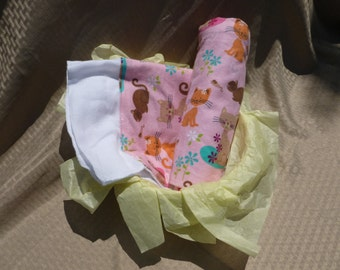 Playful Cats Baby Blanket Set