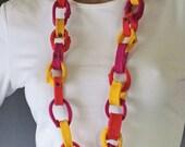 Chain Reaction Felt Necklace Belt