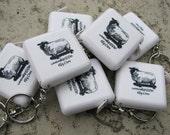 Schaf-Maßband mit Schlüsselring/Kette - kostenloser Versand für diesen Artikel als mit jedem anderen Artikel gekauft