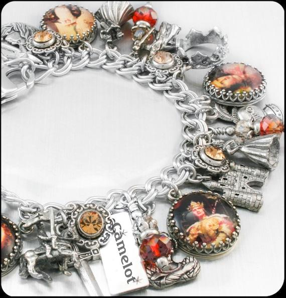 Camelot Charm Bracelet Silver Charm Bracelet by
