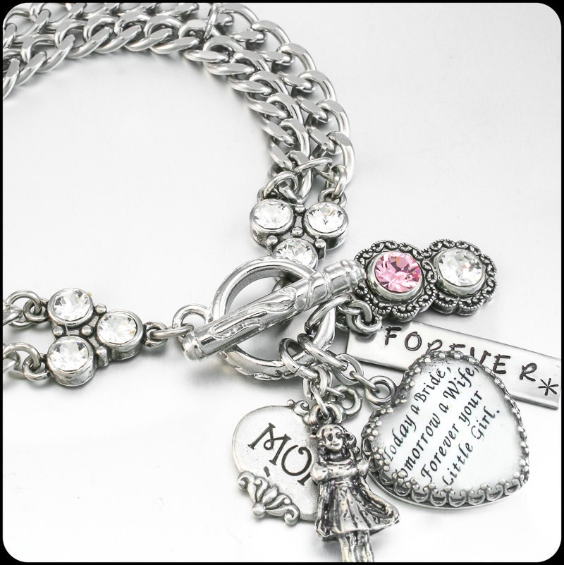 Wedding Gift For Bride Jewelry : Wedding Jewelry for Mom Daughter Gift to Mom by BlackberryDesigns