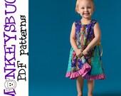 Gretchen Swing Dress PDF eBook Pattern INSTANT DOWNLOAD