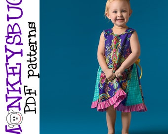 Gretchen Swing Dress PDF eBook Pattern INSTANT DOWNLOAD