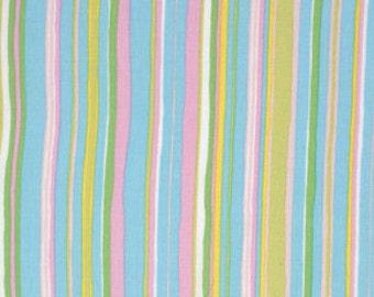 NEW from Dena Designs, Tiddlywinks, Stripe in Blue, yard