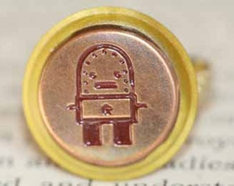 SALE Lost in Space Vintage Robot Ring
