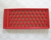 Lip gloss filling tray and tubes