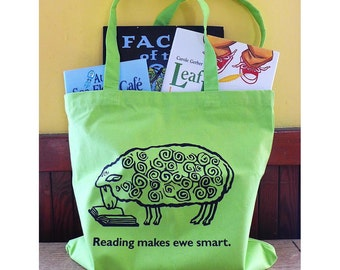 Smart sheep book bag