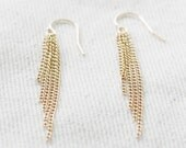 saving grace - tassel chain earrings