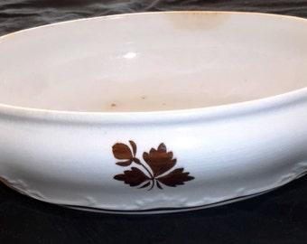 Alfred Meakin Tea Leaf China Casserole