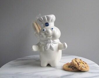 Vintage Pillsbury Doughboy, Utensil Holder, Kitchen Holder, Pillsbury Dough Boy, Kitchen Organizer