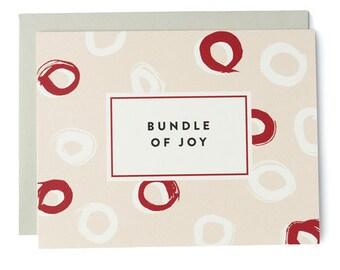 Bundle Of Joy Bright Brush Card