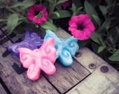 Butterflies in the Garden Soap Favor - Adorable Butterfly Party, Birthday, Tea, Shower, Wedding Favors