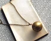 Ball Locket Necklace,  Lockets, Locket Necklace, Personalized Necklace, Weddings, Anniversary, Birthday, Locket,