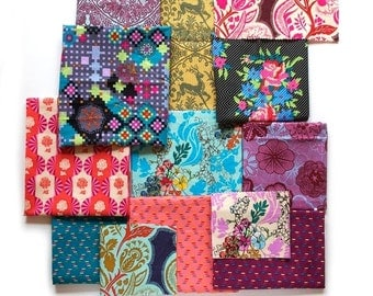 Dowry Collection - Fabric by Anna Maria Horner - 24 Fat Eighth Bundle - Complete Collection