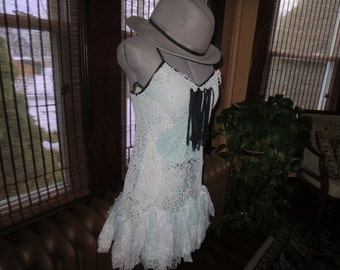 Frilly Little Lace Rag Dress