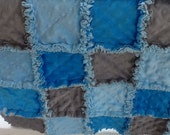 JUST FOR BOYS Sweet and Funny baby boy security rag quilt all chenille