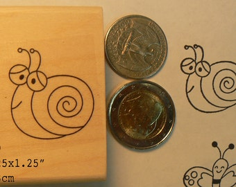 P59 snail rubber stamp