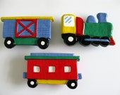Large Drawer Pulls - Train, Boxcar, Caboose