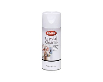 Krylon Crystal Clear Coating Aerosol Spray CLEARANCE