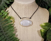 Moonstone Acacia Necklace in Sterling